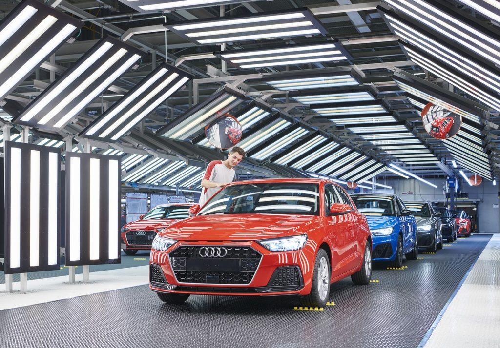 Audi A1 Foto top